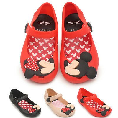 $7.88 • Buy New Summer Cartoon Cute Mickey Minnie Sandals Jelly Shoes Kids Girl Gift Toddler