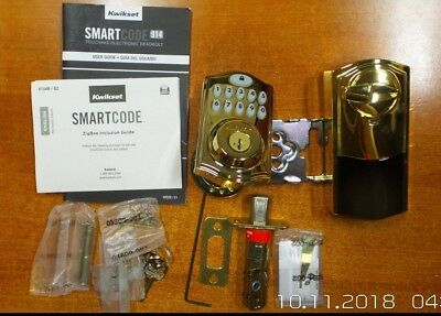 $ CDN164.57 • Buy DAMAGED - Kwikset 99140-007 Smartcode 914 Echo Plus And Xfinity Touchpad (R553)