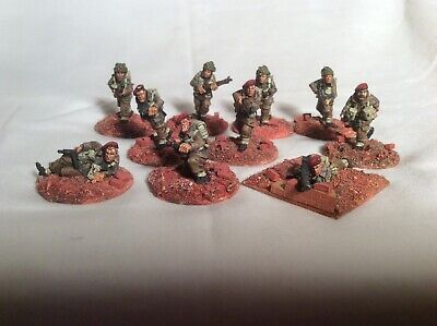 28mm WW2 British Paratroopers X 10. Foundry Miniatures. • 90£