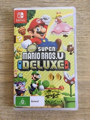 AU36 • Buy ALMOST NEW New Super Mario Bros U Deluxe Nintendo Switch Game
