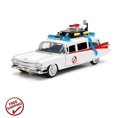 Metals 1:24 Die Cast Hollywood Rides Ghostbusters Ecto-1 Toy Car Brand New Uk • 30.99£