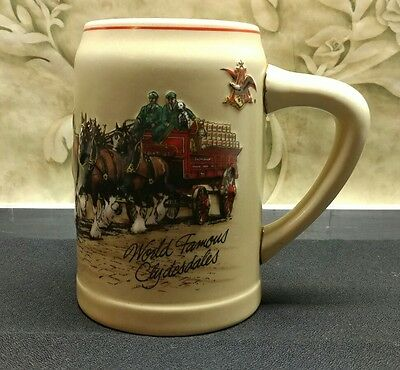 $ CDN14.98 • Buy 1987 Budweiser Stein World Famous Clydesdales