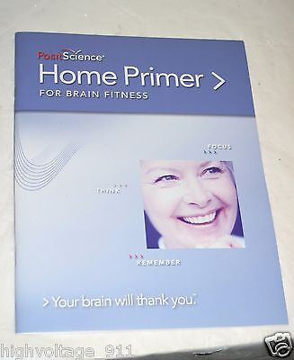 $3.55 • Buy PositScience Home Primer For Brain Fitness Your Brain Will Thank You Book (2007)