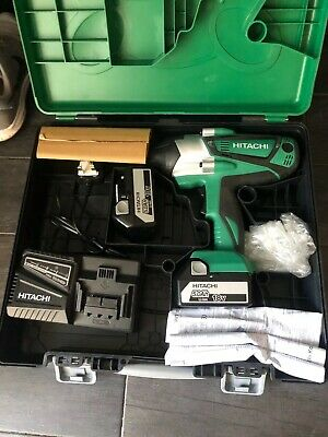 Hitachi 18v Cordless Impact Wrench.WR18DSHL. X2 Batteries. Brand New Never Used • 210£