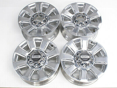 $939 • Buy New 2020 20  -oem- Ford F250 F350 Superduty Stock Polished Wheels & Caps
