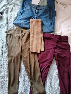 Leggings Bundle With Jeans And Wool Skirt Topshop Primark Pretty Little Thing... • 9£