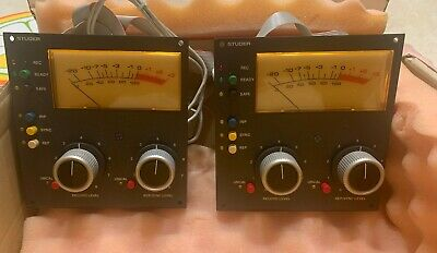 $1564.42 • Buy Studer A 810 VU Meters In Excellent Working Condition.