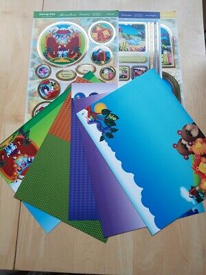 Hunkydory Two By Two Cardmaking Kit Ideal For Children's Cards • 2.99£