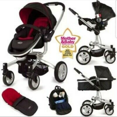 Graco Symbio Pushchair & Complete Travel System And accessories • 130£