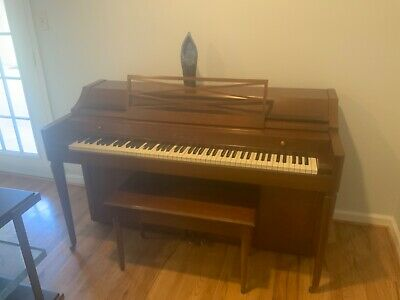 $98 • Buy Baldwin Acrosonic Spinet Piano With Original Bench And Serial Number.
