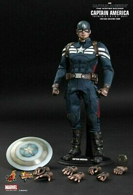 AU449.99 • Buy Hot Toys Mms 242 Captain America Stealth Strike Winter Soldier Like New