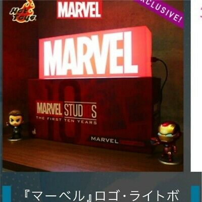 $ CDN251.56 • Buy Hot Toys Avengers End Game Light Box Logo Marvel Exclusive Limited 2019 Rare