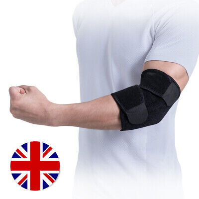 Elbow Support Brace Strap For Tennis Golfer Easy Fit Pain Relief Gym Elasticated • 7.45£