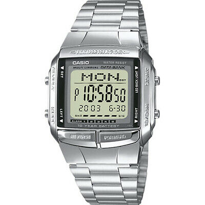 View Details Casio Mens Databank Alarm Chronograph Watch DB-360N-1AEF RRP £48 • 32.00£