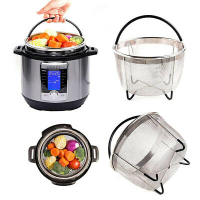 $18.69 • Buy 6qt Steamer Basket For Accessories Or Pressure Cooker For Healthy Diet