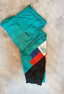 Mens Vintage Shell Suit Bottoms XL Adidas  • 6£