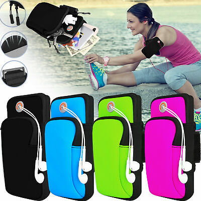 Sport Armband Running Jogging Gym Holder Arm Band Bag Case Pouch For Cell Phone • 3.32£