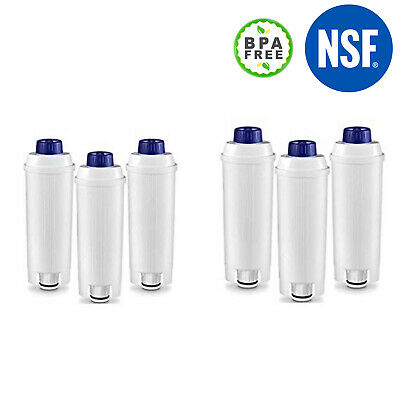 AU53.49 • Buy 6 X Water Filter For Delonghi ECAM23460S Compact Fully Automatic ESAM04110S