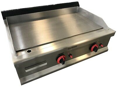 £539 • Buy Commercial Kitchen Gas Hotplate Table Top Griddle Heavy Duty 80cm Burger Grill