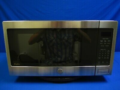 $200 • Buy GE Profile 2.2 Cu. Ft. Countertop Sensor Microwave Oven PES7227SL1SS