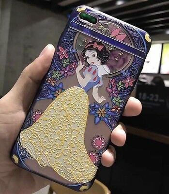 AU14.45 • Buy NEW IPhone 7/8 Plus Disney Snow White Stain Glass Effect Hard Phone Case