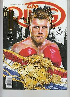 $9.75 • Buy Canelo Alvarez Fighter Of The Year Ring Magazine March 2020 No Label