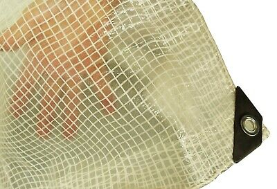 £9.83 • Buy Tarpaulin/ground Sheet,clear Reinforcing Mesh And Strengthened Corners (1.9x2.9)