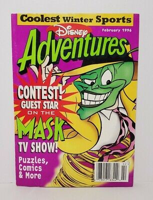 $5.49 • Buy Disney Adventures Kids Magazine February 1996 The Mask 90s Back Issue