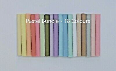 Premium Pastel Craft Felt Pack | 18 Colours | 4 Size Options     • 4£