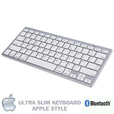 New Slim Wireless Bluetooth Keyboard For Imac Ipad Android Phone Tablet Pc Uk • 11.95£