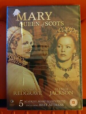 DVD Mary Queen Of Scots Vanessa Redgrave Glenda Jackson New Sealed • 4.50£
