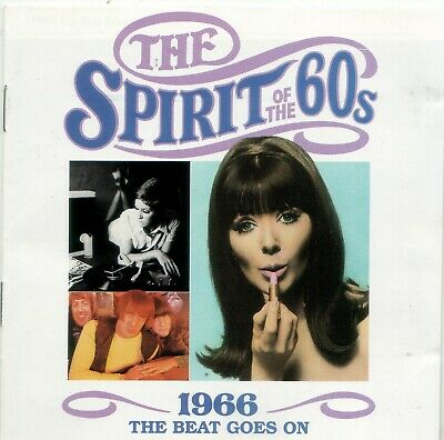Various 'The Spirit Of The 60s - 1966 The Beat Goes On' Time Life Music CD EX • 6.10£