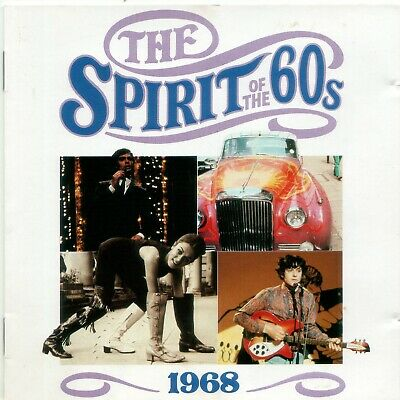 Various 'The Spirit Of The 60s - 1968' Time Life Music CD 1990 EX • 6.10£