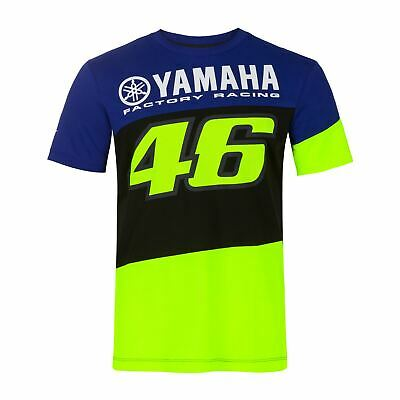 Valentino Rossi T-Shirt VR46 MotoGP M1 Yamaha Factory Racing Team Official 2020 • 34.99£