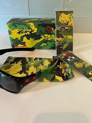$225 • Buy Oakley Dispatch Frogskin Jupiter Camo Special Edition RARE Glasses Ray Band Kith