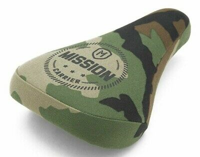 $27.95 • Buy Mission Carrier Stealth Pivotal (Camo) Extra Thick BMX Bicycle Seat