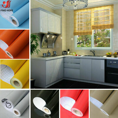 Glitter Self Adhesive Wallpaper Wall Stickers Vinyl Wrap Kitchen Cupboard Cover • 3.99£