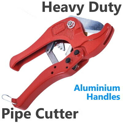 42mm Ratchet Pipe Cutter PVC Vinyl Plastic Tube Conduit Plumbing Plumber Tool  • 7.85£