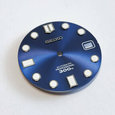 $ CDN66.70 • Buy MM300 Dial For Seiko SKX007, MARINEMASTER 300, Navy Blue, Fits NH35, C3Lume