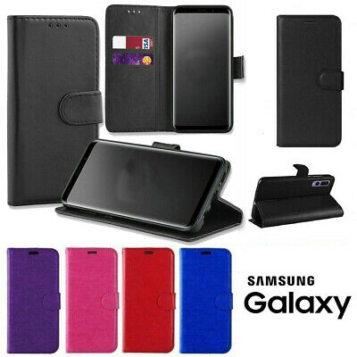 $ CDN6.50 • Buy Case Wallet Pouch Leather Book Flip For Samsung Galaxy S8/S8Plus Phones Covers