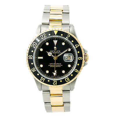 $ CDN11206.90 • Buy Rolex GMT-Master II 16713 Mens Automatic Watch Two Tone Gold Buckle 40mm