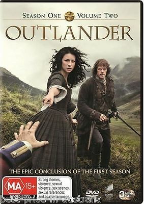 AU20.88 • Buy OUTLANDER: Season 1: Part 2 DVD TV SERIES DRAMA ROMANCE 3-DISCS SET BRAND NEW R4