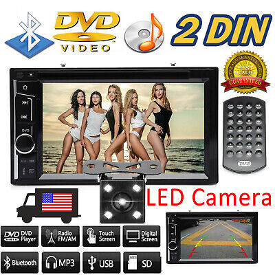 $145.49 • Buy Car Radio Stereo CD DVD 2Din For 02 03 04 05 06 FORD EXPEDITION EXPLORER LINCOLN