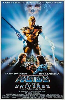 $9.98 • Buy MASTERS OF THE UNIVERSE 11x17  Movie Poster - Licensed | New | USA | [A]