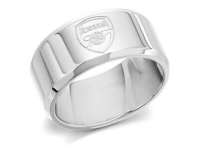 £14.99 • Buy Arsenal FC Mens Jewellery Stainless Steel Band Ring