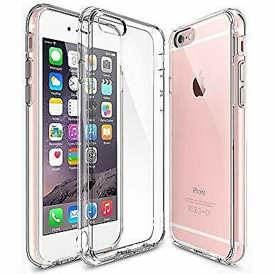 AU7.29 • Buy For Apple Iphone 6s Thin Drop Shock Proof Clear Gel Case Bumper Protection