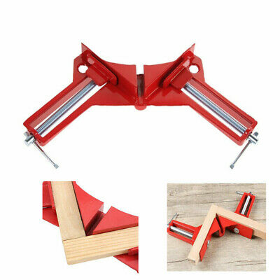 $7.57 • Buy 90 Degree Right Angle Clip Picture Frame Corner Clamp Woodworking Hand Tool