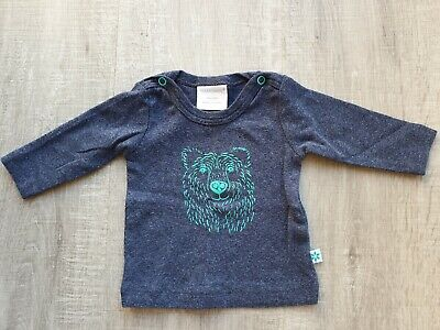 AU7 • Buy Size 000 Marquise Baby Boy Long Sleeve Top Navy 0-3 Months EUC As New