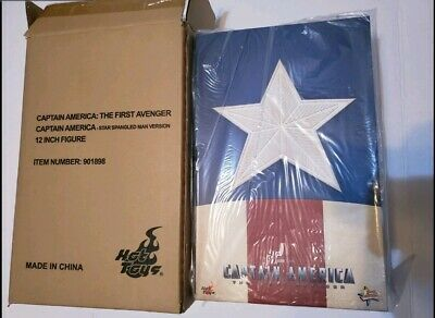 $319.99 • Buy Hot Toys Captain America Star Spangled Man Version 1/6 Scale Action Figure