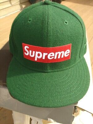 $ CDN183.12 • Buy Supreme Hat Authentic,wool,2010 Retro,7-1/2